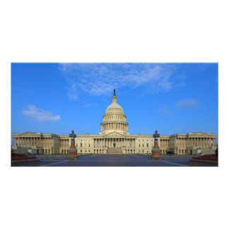United States Capitol Building East Side Photo Greeting Card