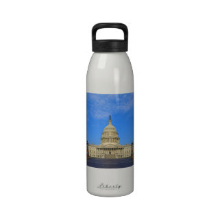 United States Capitol Building East Side Water Bottle