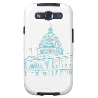 United States Capitol Building Landmark Galaxy S3 Covers