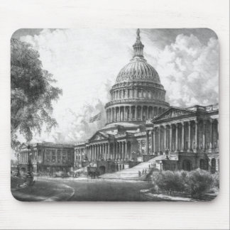United States Capitol Building Mouse Pad