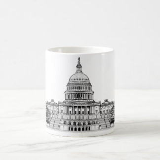 United States Capitol Building Coffee Mugs