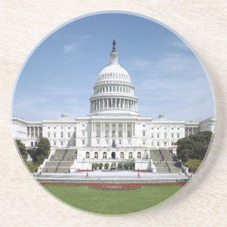 United States Capitol Building Sandstone Coaster