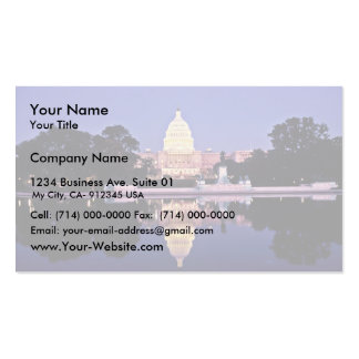 United States Capitol Business Cards
