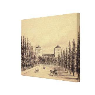 United States Capitol from Pennsylvania Avenue Canvas Print