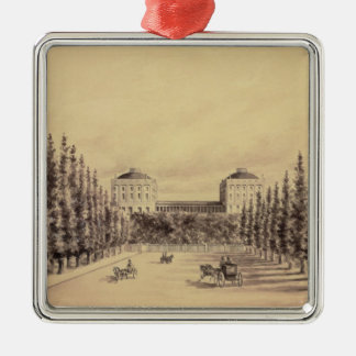 United States Capitol from Pennsylvania Avenue Christmas Ornament