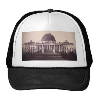 United States Capitol in Washington D.C. from 1846 Hat