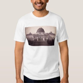 United States Capitol in Washington D.C. from 1846 T Shirts