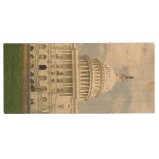 United States Capitol Wood USB 3.0 Flash Drive