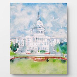 united states capitol plaque