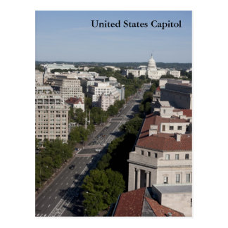 United States Capitol Postcard