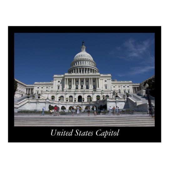 United States Capitol Postcard