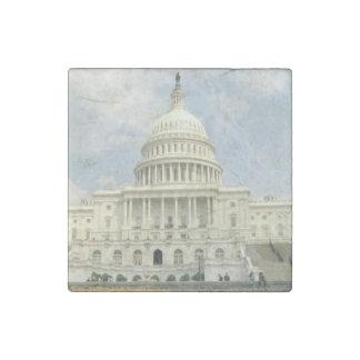United States Capitol Stone Magnet