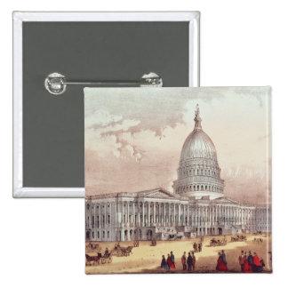United States Capitol, Washington D.C. 15 Cm Square Badge