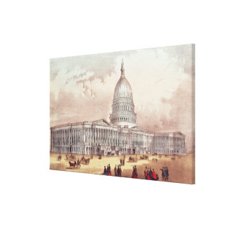 United States Capitol, Washington D.C. Canvas Print
