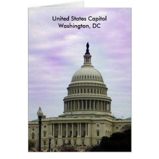 United States Capitol, Washington, DC Greeting Card