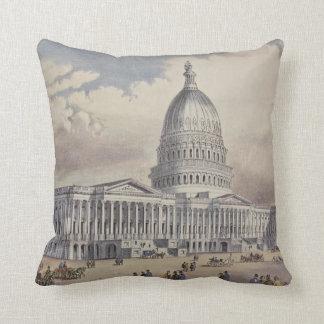 United States Capitol Washinton DC Cushion