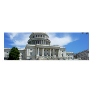United States Capitol White House Washington DC Business Card Template