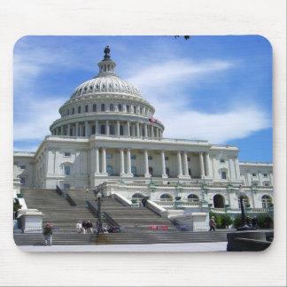 United States Capitol White House Washington DC Mouse Pads