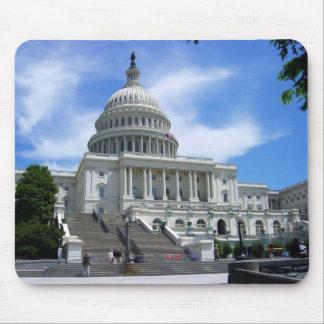 United States Capitol White House Washington DC Mouse Pad