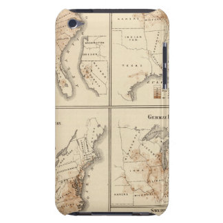 United States Census maps, 1870 iPod Touch Covers