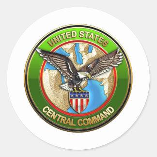 United States Central Command Round Sticker