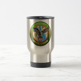 United States Central Command Stainless Steel Travel Mug