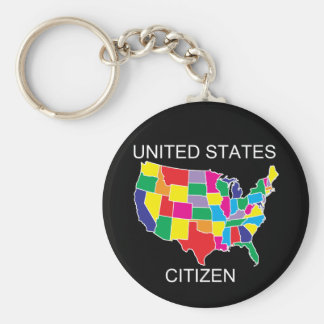 United States Citizen keychain