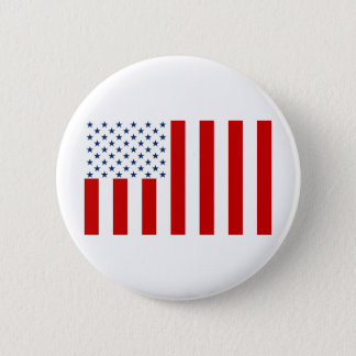 United States Civil Flag Sons of Liberty Variation 6 Cm Round Badge