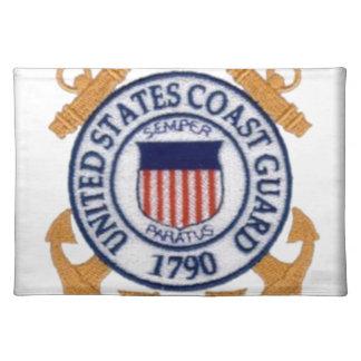 United States Coast Guard Emblem Placemats