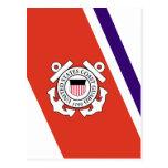 United States Coast Guard Racing Stripe - Left Post Cards