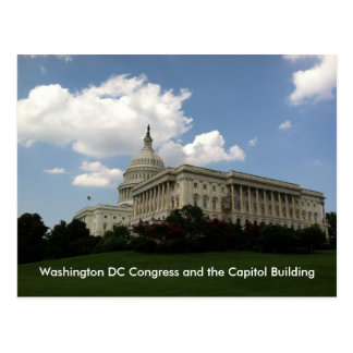 United States Congress and Capitol Postcard