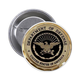 UNITED STATES DEPARTMENT OF DEFENSE 6 CM ROUND BADGE