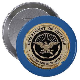 UNITED STATES DEPARTMENT OF DEFENSE 10 CM ROUND BADGE