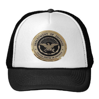 UNITED STATES DEPARTMENT OF DEFENSE MESH HATS