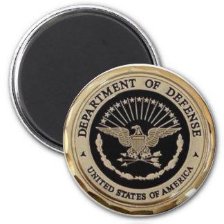 UNITED STATES DEPARTMENT OF DEFENSE REFRIGERATOR MAGNET