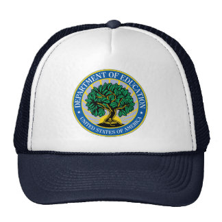 United States Department of Education Mesh Hats