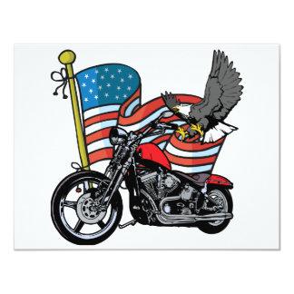 United States Eagle 11 Cm X 14 Cm Invitation Card