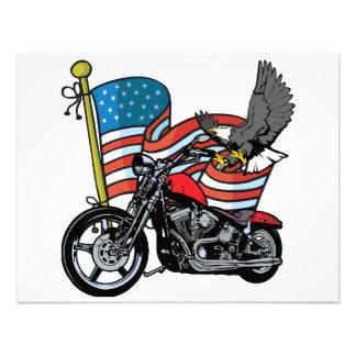 United States Eagle Custom Invites