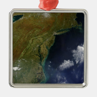 United States East Coast Christmas Ornament