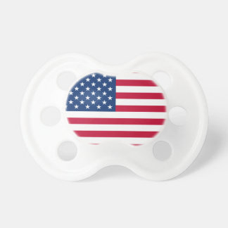 United States Flag Baby Pacifier