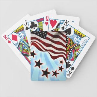 United States flag Bicycle Playing Cards