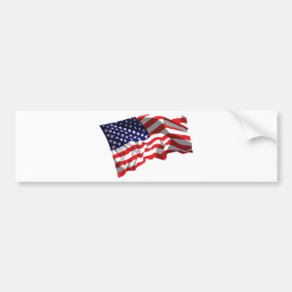 United States Flag Bumper Stickers