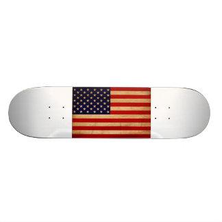 United States Flag Custom Skateboard