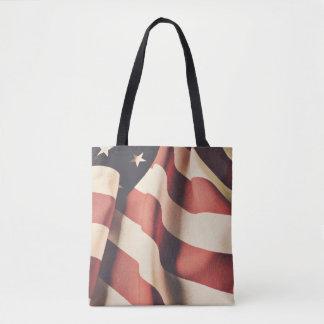 United States flag filter Tote Bag