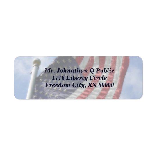 United States Flag Flying