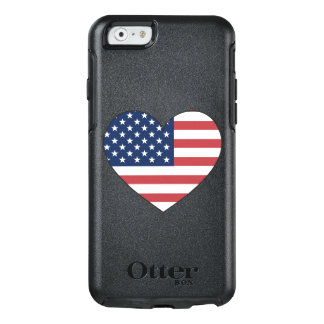 United States Flag Heart OtterBox iPhone 6/6s Case