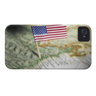 United States flag in map iPhone 4 Case