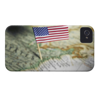 United States flag in map iPhone 4 Cover