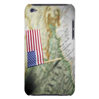 United States flag in map iPod Case-Mate Case