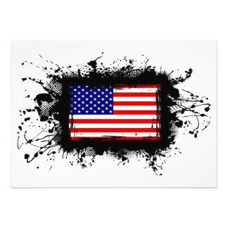 United States Flag Announcement